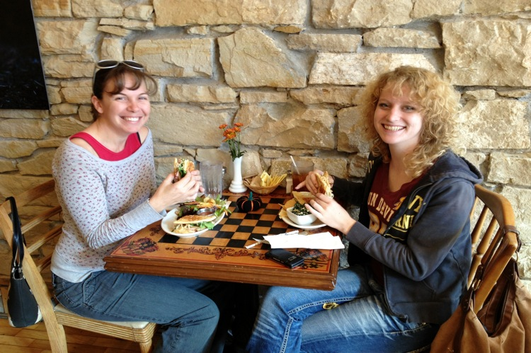 Friends Enjoy Lunch at The Farm Bistro