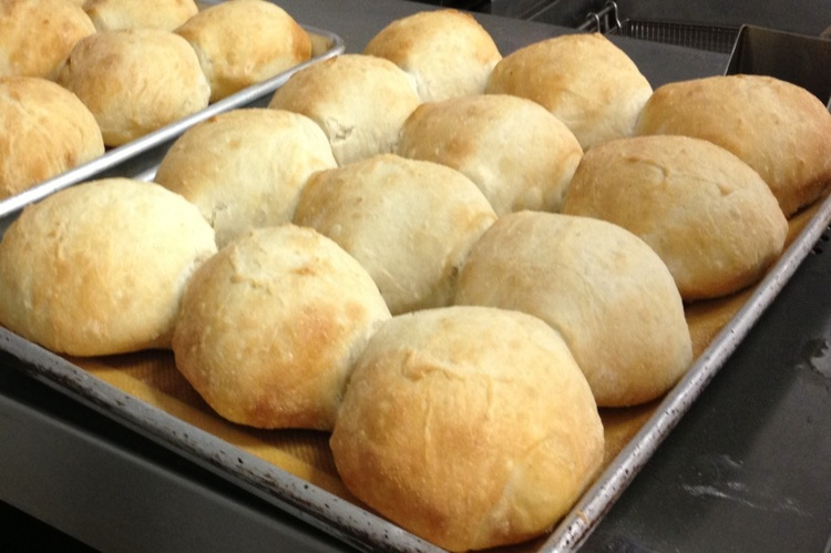 The Farm Bistro homemade dinner rolls