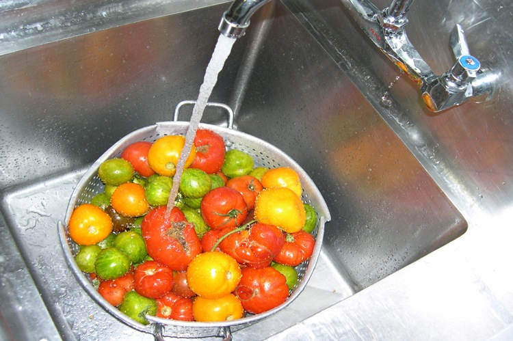 The Farm Bistro tomatoes