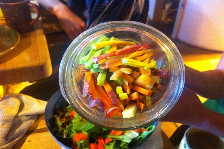 The Farm Bistro vegetables
